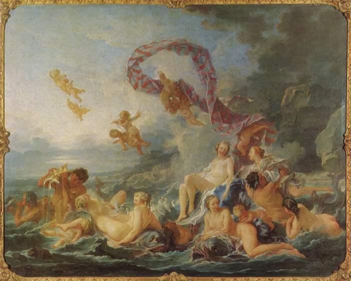 Франсуа Буше. Триумф Венеры, 1740