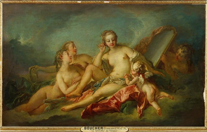 Франсуа Буше. Туалет Венеры, 1749