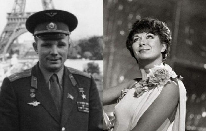 Юрий Гагарин и Эдита Пьеха | Фото: news.myseldon.com