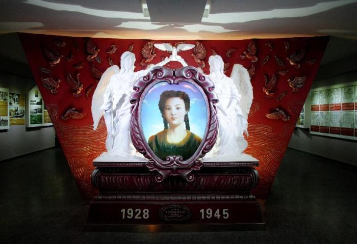 Экспозиция в музее им. Галины Дубеевой