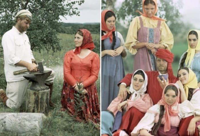 Кадры из фильма *Белое солнце пустыни*, 1969 | Фото: rg.ru