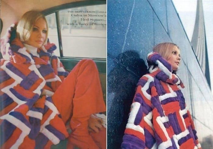 Советская манекенщица, вынужденная эмигрировать за рубеж после фотосессии для западных СМИ   Фото: modagid.ru и fb.ru
