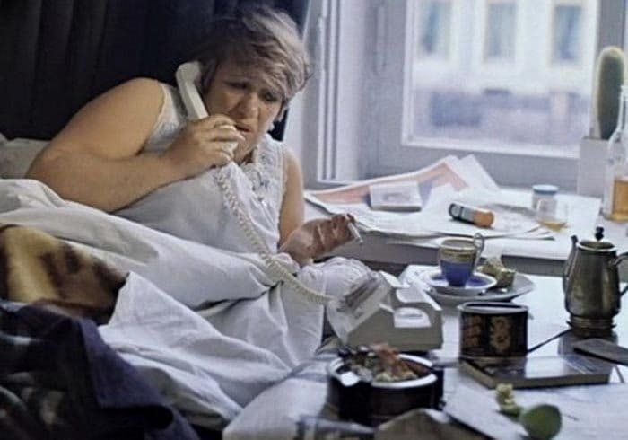 Галина Волчек в фильме *Осенний марафон*, 1979 | Фото: stuki-druki.com