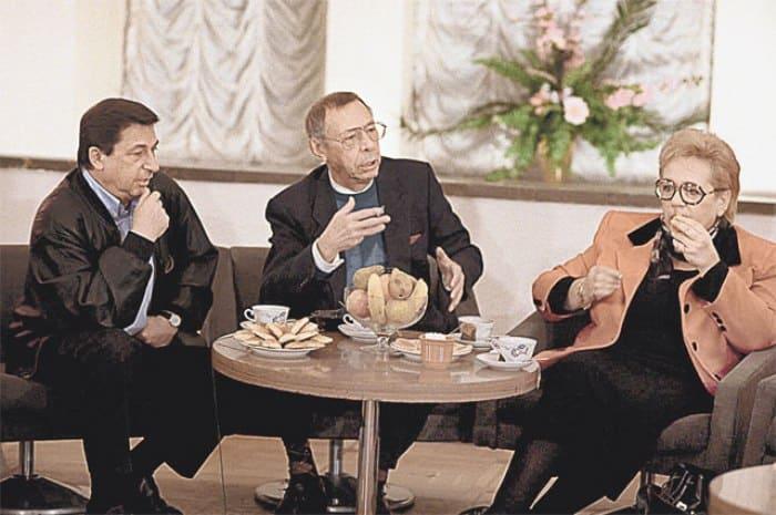 Игорь Кваша, Олег Ефремов и Галина Волчек | Фото: aif.ru