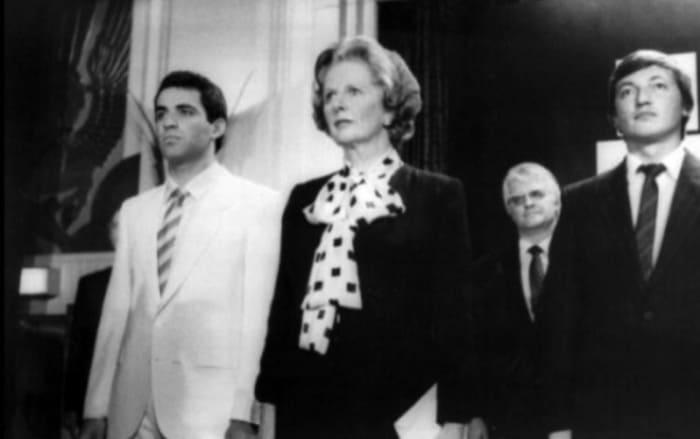 Гарри Каспаров, Маргарет Тэтчер и Анатолий Карпов в Лондоне, 1986 | Фото: 24smi.org