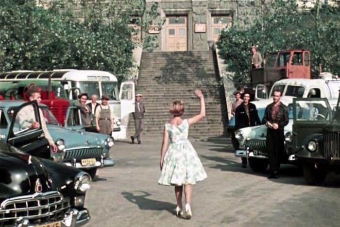 Кадр из фильма *Королева бензоколонки*, 1962 | Фото: feellini.ru