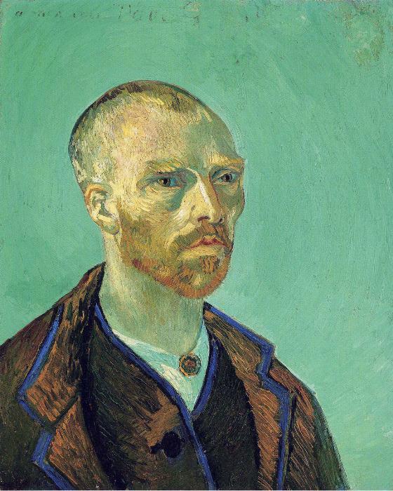 Винсент Ван Гог. Автопортрет, посвященный Гогену, 1888 г.