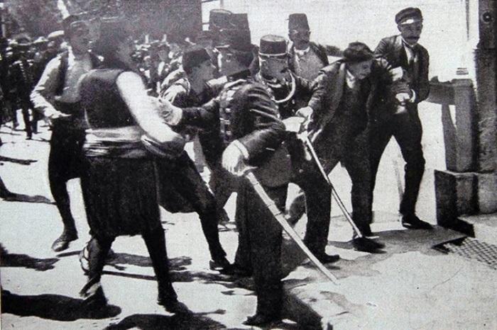 Арест Гаврилы Принципа | Фото: fakti.org