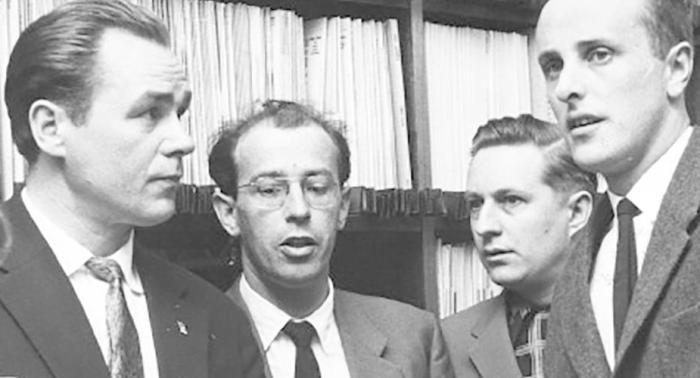 Георг Отс (слева) с коллегами | Фото: visitestonia.com