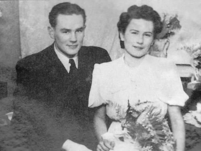 Георг Отс с первой женой Маргот | Фото: homsk.com