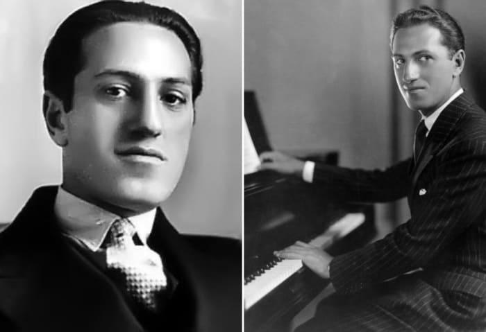 Пианист-самоучка и гениальный композитор Джордж Гершвин | Фото: etvnet.com и os.colta.ru