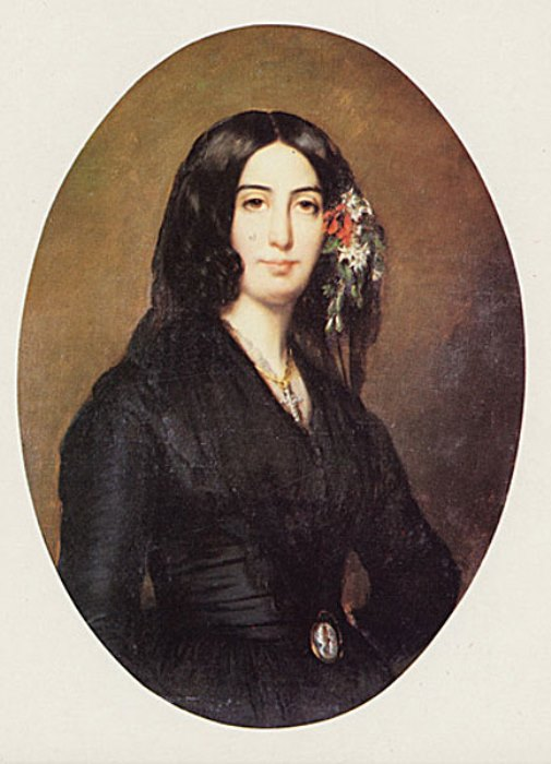 Огюст Шарпантье. Жорж Санд, 1838 г.