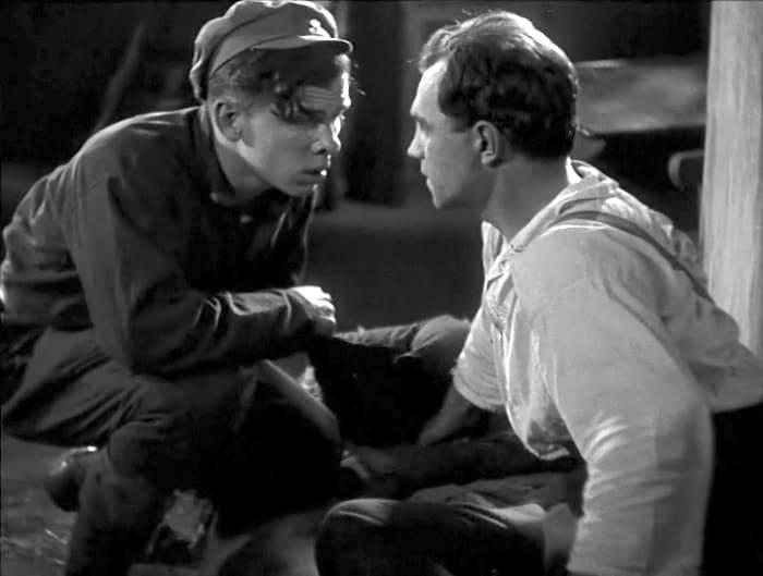 Георгий Жженов в фильме *Чапаев*, 1934 | Фото: kino-teatr.ru