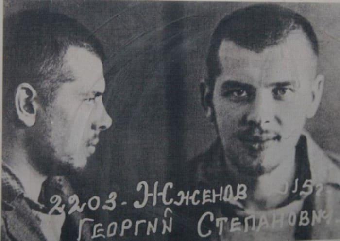 Заключенный Георгий Жженов | Фото: culture.ru