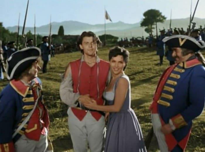 Кадр из фильма *Фанфан-тюльпан*, 1952 | Фото: moviesgallery.eu