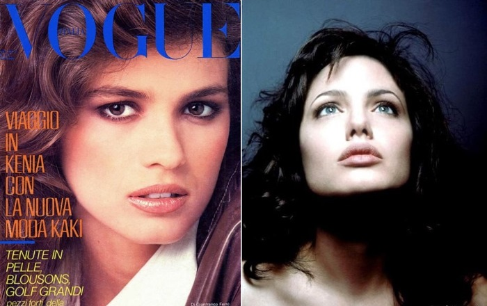Джиа на обложке журнала и ее двойник в кино – Анджелина Джоли