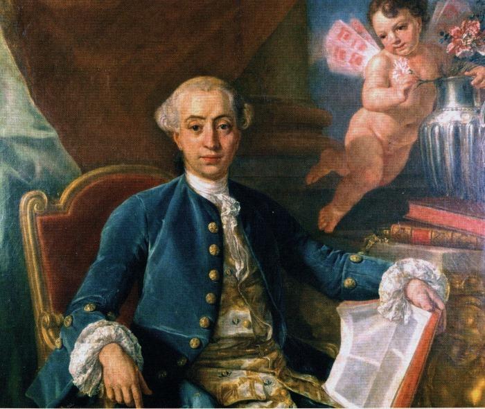 Ф. Наричи (предположительно). Портрет Казановы, 1760 г. | Фото: liveinternet.ru