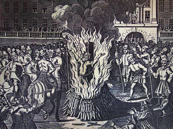 Инквизиция казнила Джордано Бруно вовсе не за пропаганду идей Коперника | Фото: wtfpost.ru