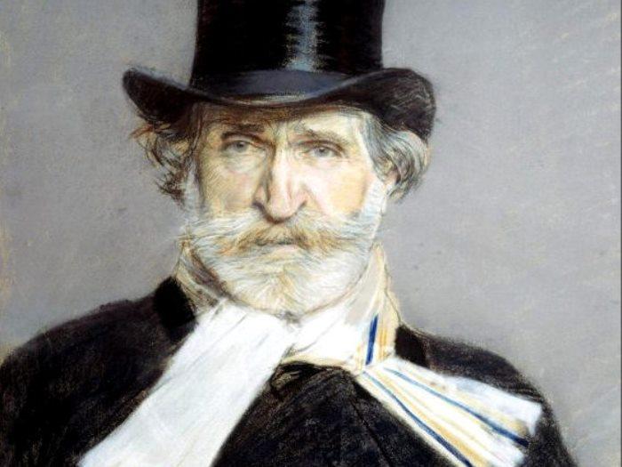 Д. Больдини. Портрет Джузеппе Верди, 1886. Фрагмент   Фото: gallerix.ru