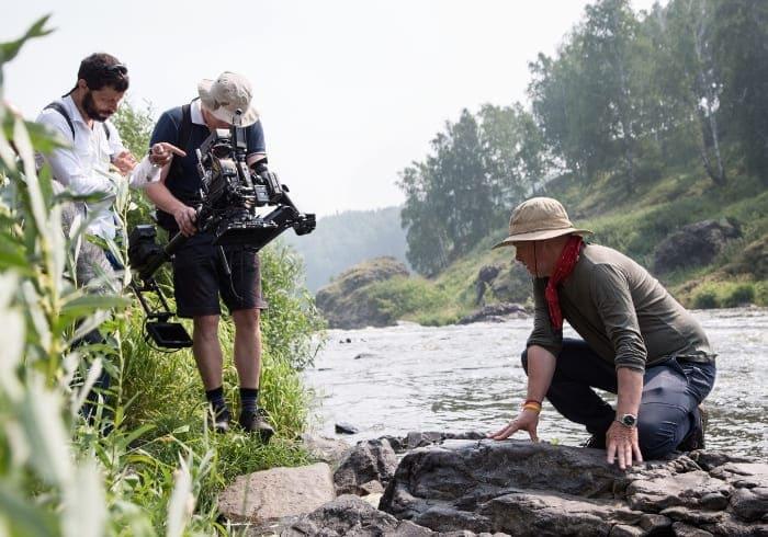 На съемках сериала | Фото: vokrug.tv