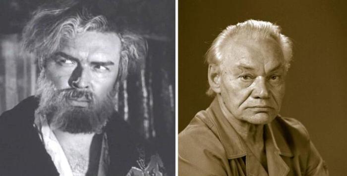 Афанасий Кочетков в фильме *Угрюм-река*, 1968, и в последние годы жизни | Фото: 24smi.org