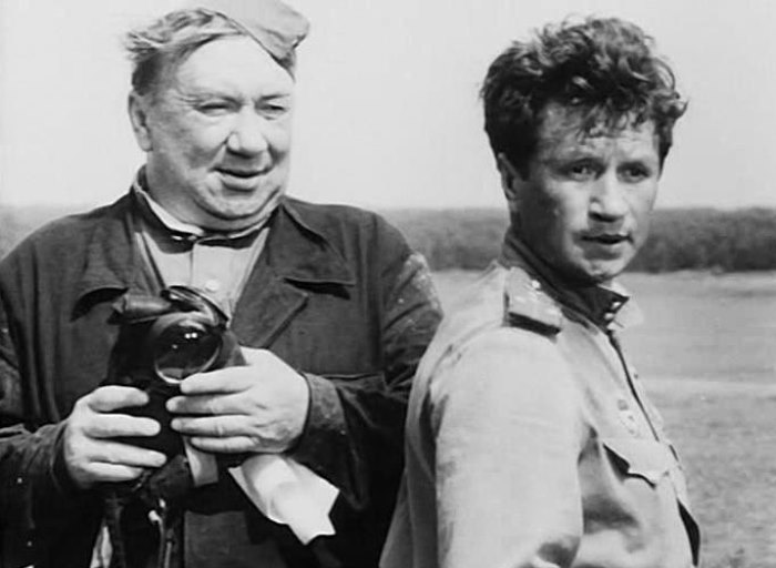 Алексей Смирнов и Леонид Быков | Фото: leonid-bykov.ru