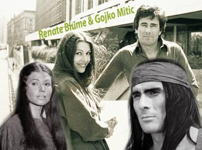 Гойко Митич и Рената Блюме | Фото: voljena.livejournal.com