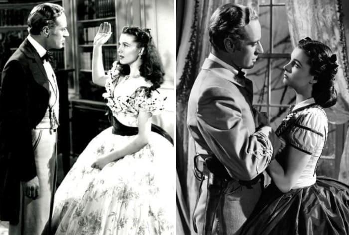 Лесли Говард и Вивьен Ли в фильме *Унесенные ветром*, 1939 | Фото: unfadingstar.beon.ru