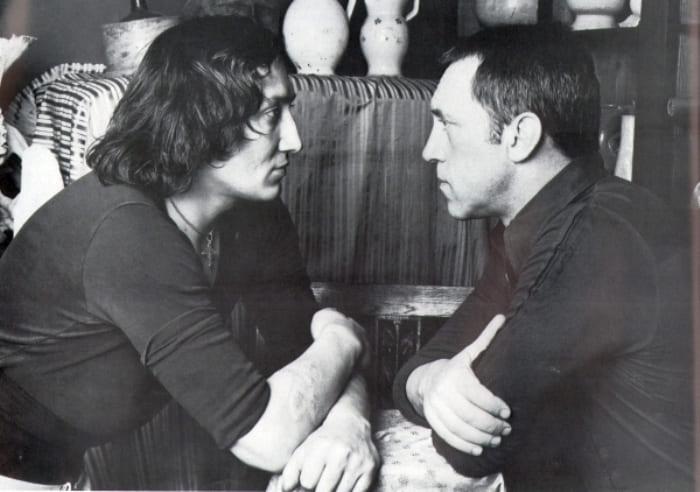 Михаил Шемякин и Владимир Высоцкий | Фото: rg.ru