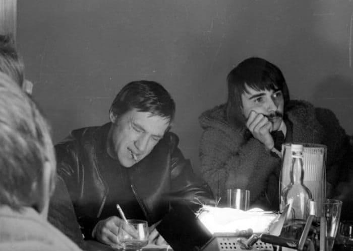 Владимир Высоцкий на записи песен к фильму *Бегство мистера Мак-Кинли*, 1973 | Фото: echo.msk.ru