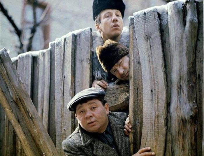 Е. Леонов, Г. Вицин и С. Крамаров в комедии *Джентльмены удачи*, 1971 | Фото: kinopoisk.ru