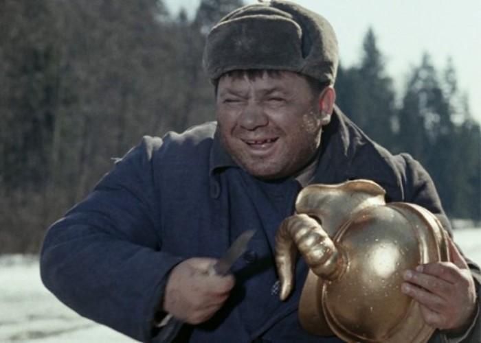 Е. Леонов в комедии *Джентльмены удачи*, 1971 | Фото: goodnew.ru