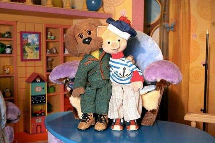Филя и Хрюша – *звери, которые воспитывают наших детей* | Фото: ribalych.ru