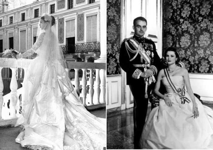 Князь Монако Ренье ІІІ с супругой