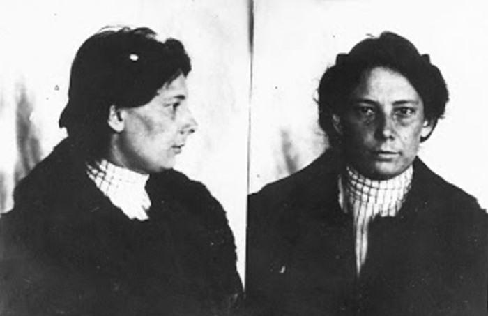 Екатерина Бибергаль, по прозвищу Киска, 1903 | Фото: googleusercontent.com