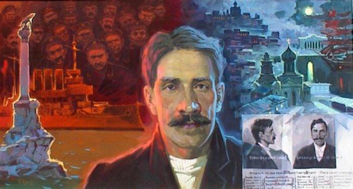 П. Саушкин. Александр Грин в Севастополе, 1903-1905 гг. | Фото: feomag.ru
