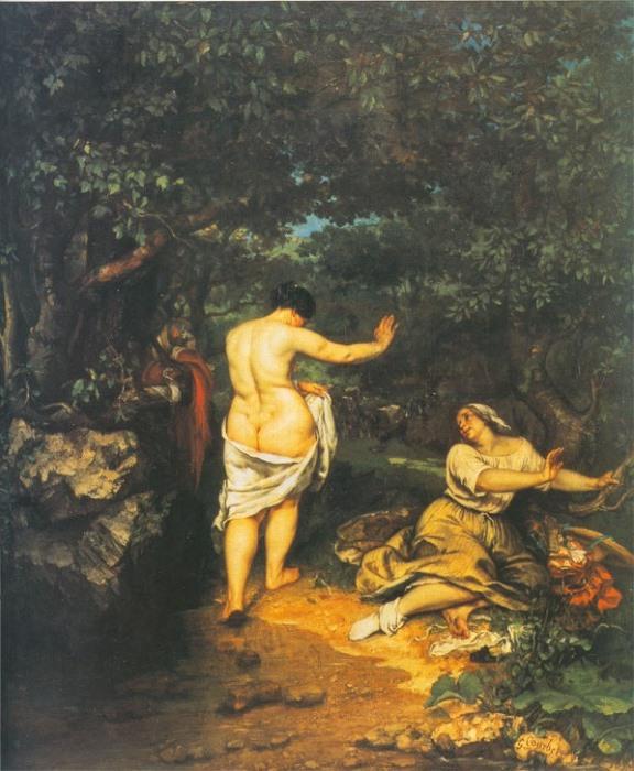 Гюстав Курбе. Купальщицы, 1853 | Фото: allpainters.ru