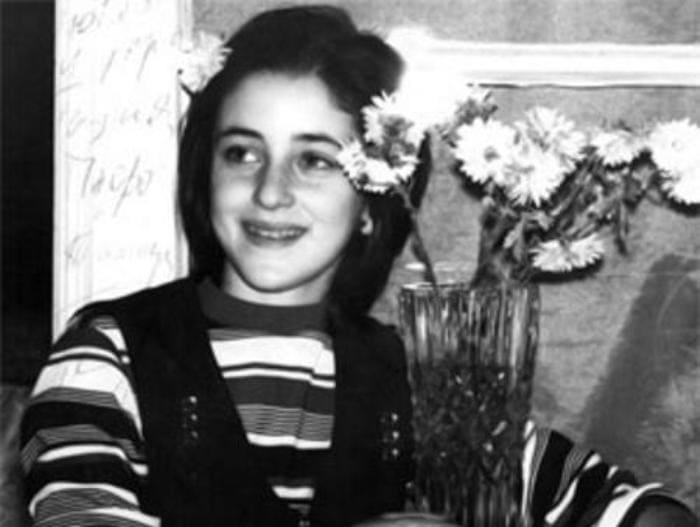 Тамара Гвердцители в детстве | Фото: biographe.ru