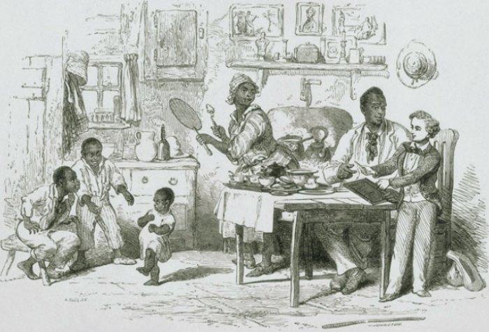 *Хижина дяди Тома*. Иллюстрация 1852 года | Фото: globallookpress.com