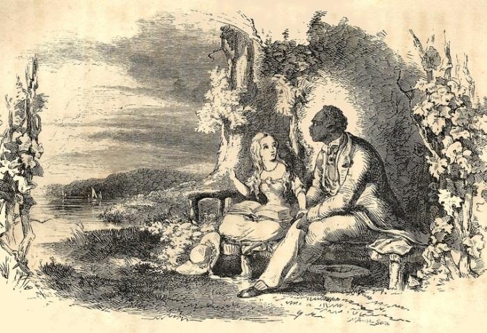 *Хижина дяди Тома*. Иллюстрация 1852 года | Фото: nationalera.files.wordpress.com