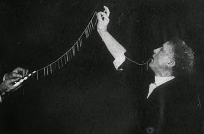 Один из самых известных фокусников начала ХХ в. | Фото: allday.in.ua