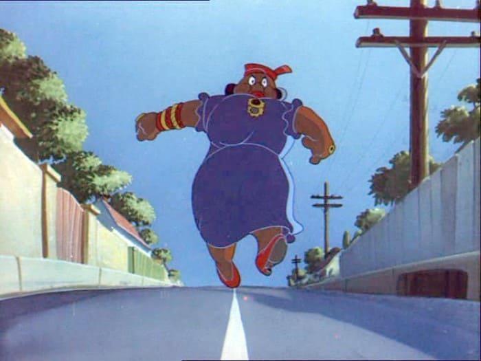 Актриса стала прототипом мультипликационного персонажа из *Тома и Джерри* | Фото: cartoonpics.net