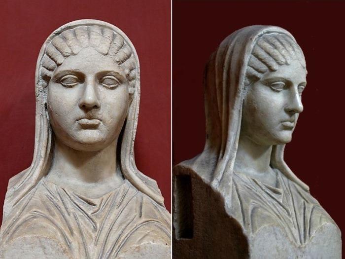 Бюст Аспасии. Римская копия