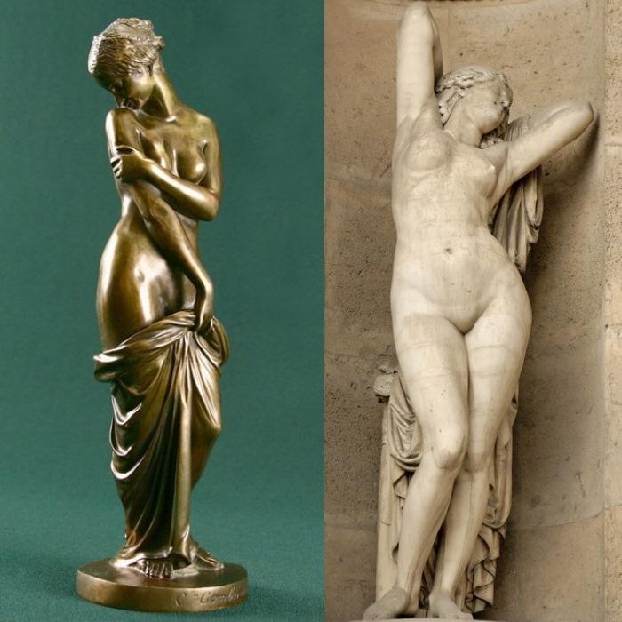 Фрина. Скульптуры Чарльза Гумберворта и Элиоса Роберта