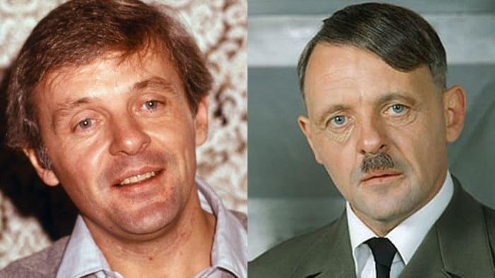 Ðнтони Хопкинс сыграл Гитлера в фильме *Бункер*, 1981 | Фото: kino.mail.ru