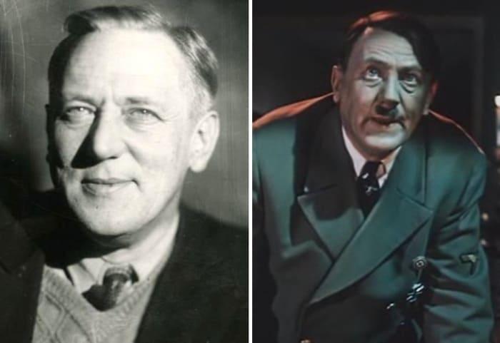 Владимир Савельев играл Гитлера в советских фильмах конца 1940-х гг. | Фото: kino-teatr.ru