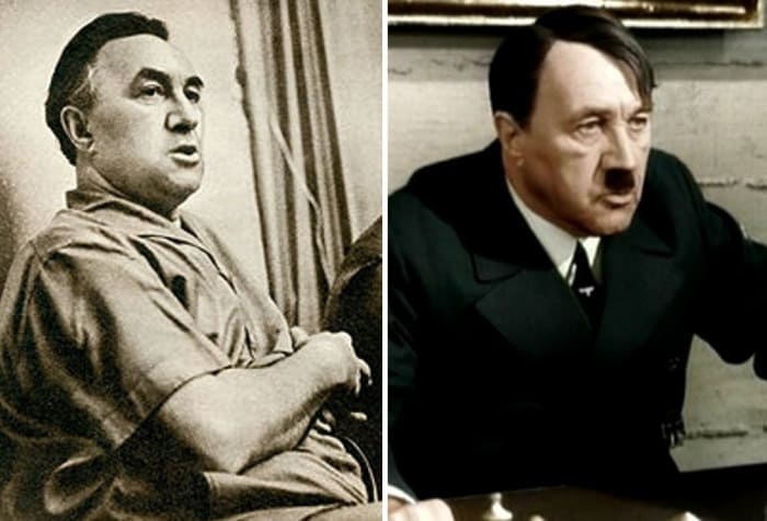 Фриц Диц – актер, которого называют лучшим исполнителем роли Гитлера в кино ХХ в. | Фото: reibert.info