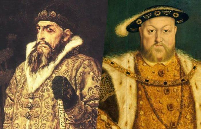 Два правителя, которых чаще всего сравнивают с Синей Бородой, – Иван Грозный и Генрих VIII | Фото: aif.ru