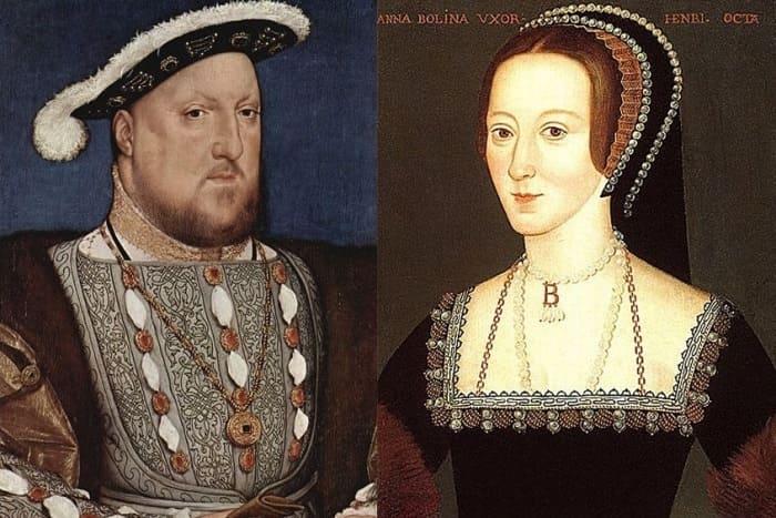 Король Генрих VIII и Анна Болейн | Фото: liveinternet.ru