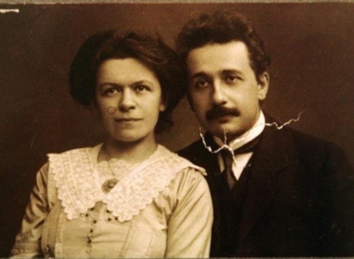 Альберт Эйнштейн и его первая жена Милева Марич | Фото: hipwee.com